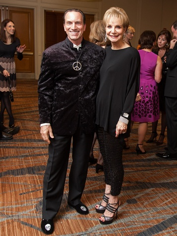 39. Robert Davenport and Leisa Holland-Nelson at the Stehlin Foundation Gala October 2013
