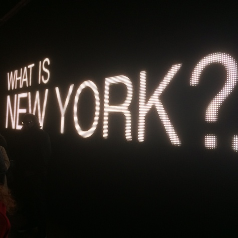 DKNY Donna Karan graphic What is New York