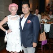 116 Vivian Wise and Sergio Morales at the White Hot Summer Night Party at Eddie V's August 2014