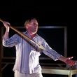 Bruce DuBose in An Iliad at Undermain Theatre in Dallas