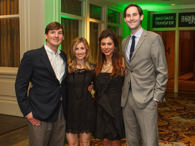Casey and Morgan Hunt, Jeananne and Mike Gardner, RMH Young Friends Party