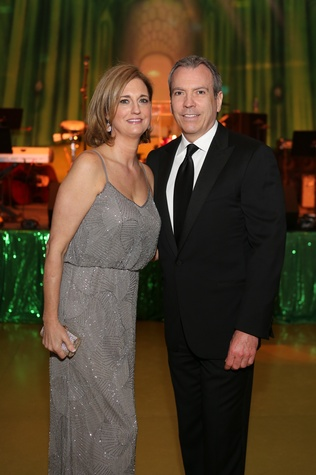 Liz Zaruba and Bob Devlin at the Houston SPA Society for the Performing Arts Gala March 2015