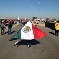 Austin Photo: Kevin_Formula 1 day 2_November 2012_mexican flag