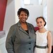 50 Karen Franklin, left, and Faith Stone at For the Sake of Art June 2014