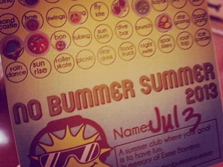 No Bummer Summer card in honor of Esme Barrera