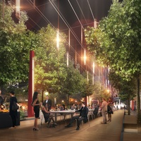 The Warf Avenida Houston rendering