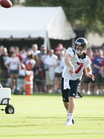 Case Keenum Texans throwing