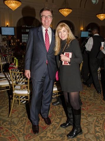 5 Dan Patrick and Melissa Jacobs at the Be An Angel Gala May 2014