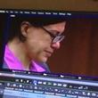 Ana Trujillo stiletto heel murder April 2014 during closing arguments