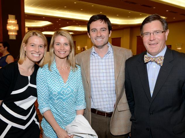 Judee Barrett, Jenny Saphier, Chad Barrett, appetite for advocacy 2014