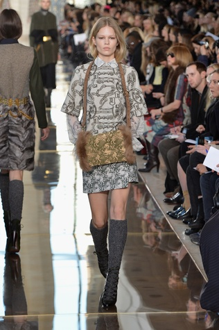 Tory Burch fall collection February 2014
