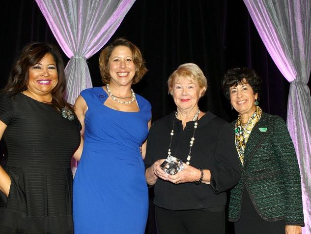 Clarice Tinsley, Jennifer Bartkowski, Nancy Ann Hunt, Millie Bradley, Girl Scouts Luncheon