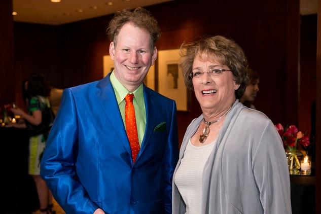 Allen Hill and Ellen Cohen at the Crisis Intervention Gala April 2014