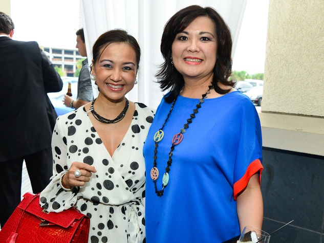 9 Zadok Hublot Party Houston May 2013 Jackie Nguyen, Nicole Nguyen