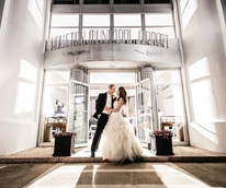 Airport Museum Wedding with Krystin Placette Gillogly and Terrence Gillogly
