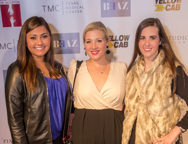 10 Leandra Taylor, from left, Stephanie Becker and Kelsi Woods at the Beat the Holiday Blues event December 2014