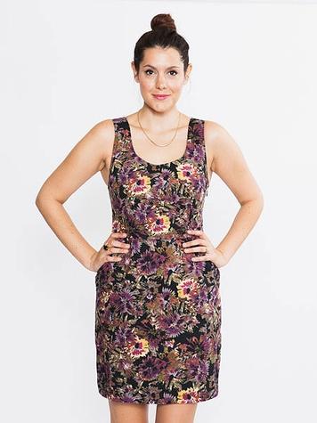 bloom dresden floral dress