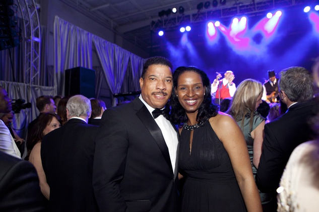 Doug and Winell Herron at the Alley Ball April 2014