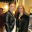 Angel Crawford, left, and Madmoiselle Moni at David Zyla at Atrium Ready to Wear January 2014