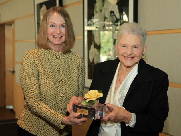 Sue Ringle, Caroline Hunt- 2015 Founders Award
