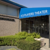Places-A&E-A.D. Players Theater-front entrance-1