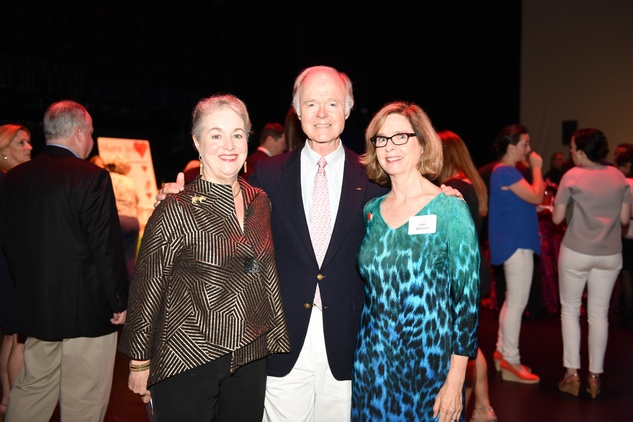 News, Shelby, Casa de Esperanza dinner, April 2015, Betty Key, Jim Key, Joan Gilliland