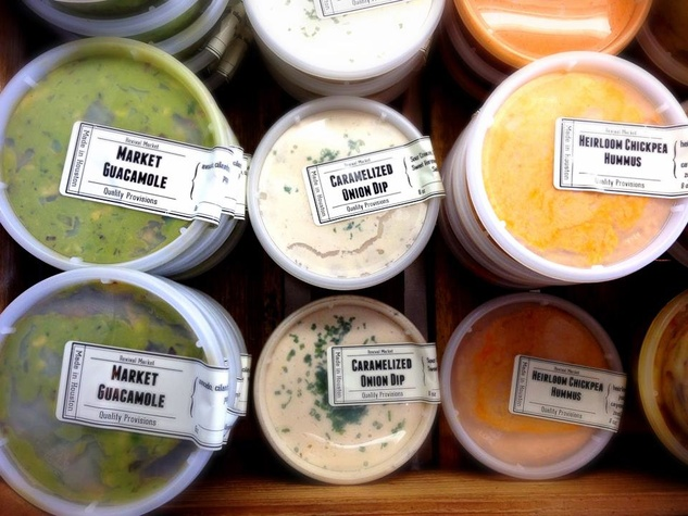 Revival Market dips and snacks