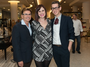 016_Fashion's Night Out, September 2012, Stephen LeJeune, Savannah Hawthorne, Zach Phillips