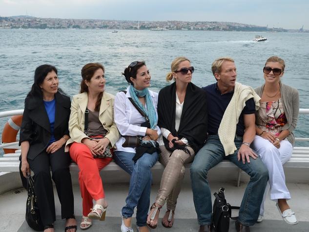 Deborah Elias, Turkey, June 2012, boat ride