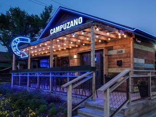 Exterior of Campuzano restaurant in Dallas