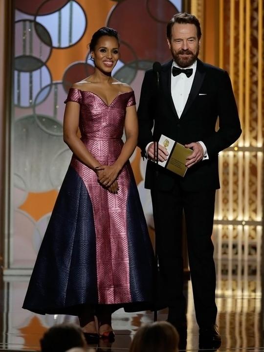 120 Kerry Washington and Bryan Cranston Golden Globes fashion January 2015