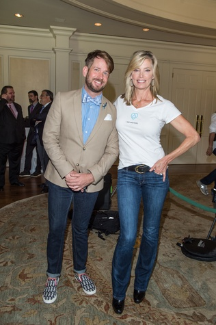 Houston, I Am Waters Luncheon_May 2015, Jeff Shell, Kelly Emberg