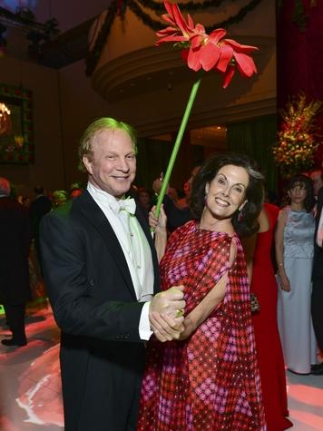 Al Lasher and Cristina Girard at the Opera Ball April 2014