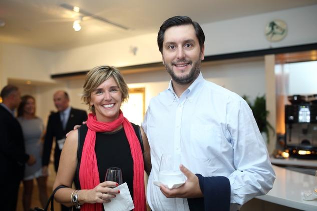 8 Teresa and Gabriel Sancho at the BCN dinner for Texas Children's Hospital September 2014