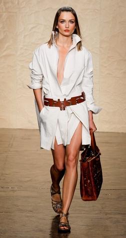 Fashion Week spring summer 2014 Donna Karan Look 20