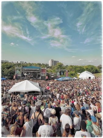 Summer Fest, crowd shot, June 2012