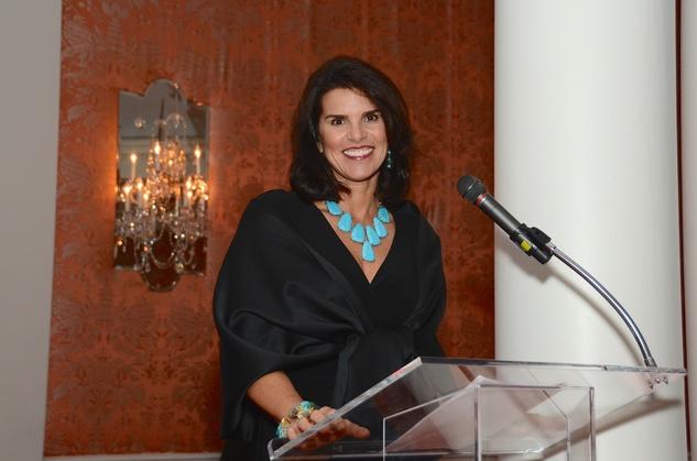 New, Shelby, Communities in School gala, April 2015, Lisa Malosky, Emcee
