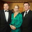 42 Tracy and Valerie Dieterich, from left, with Ron Hadley at the Big Brothers Big Sisters gala.