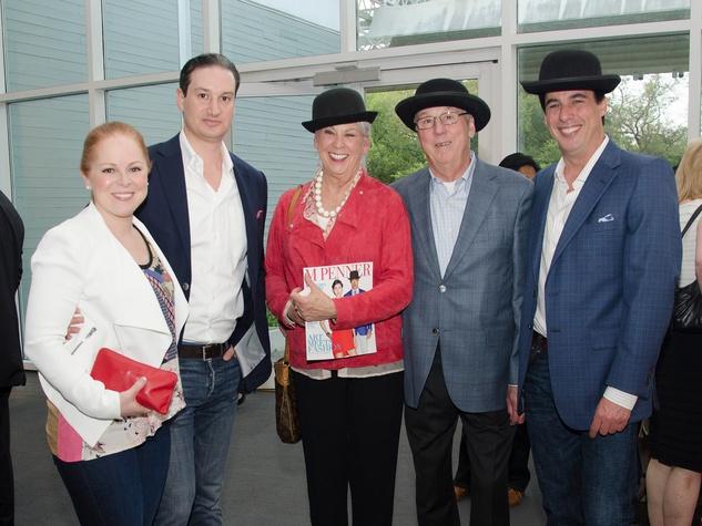 Laura Umansky, Michael Umansky, Mary Davenport, Jimmy Davenport, Fulton Davenport.