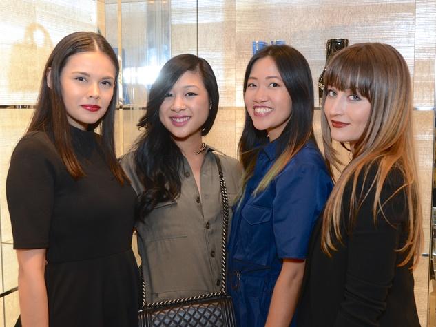 Dior grand opening Monica Abney, Fifi Phi, Issa Chou, Brittney Carroll