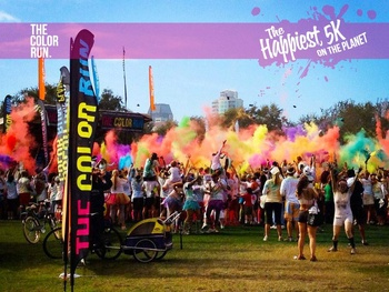 The Color Run benefiting Expedition Balance