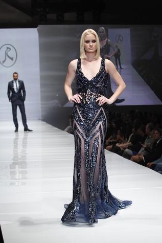 Rami Salamoun gown at Fashion Houston