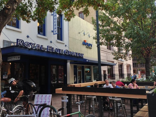 Austin Photo Set: place_royal blue grocery