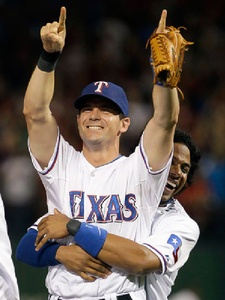 News_World Series_Michael Young_third baseman_Elvis Andrus_shortstop