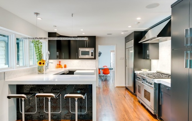 Kitchen at 6255 Park Lane in Dallas
