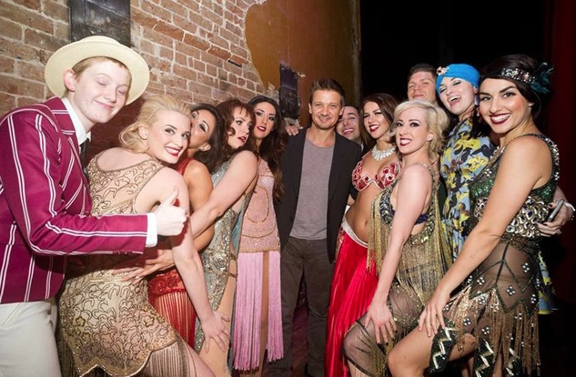 Jeremy Renner at Prohibition with Moonlight Dolls