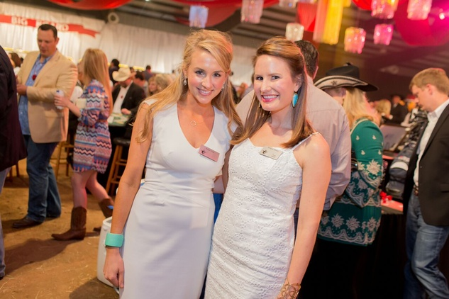 Cattle Baron's Ball 2015 Raine Falik and Morgan Moore