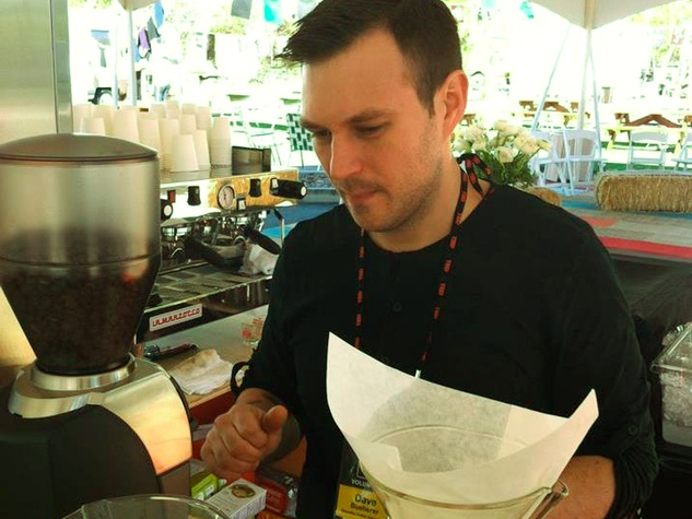 David Buerher coffee Blacksmith