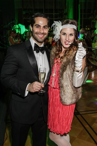 23 Michael Gracia and Stephanie Sniscak at The Patroleum Club Halloween party November 2014
