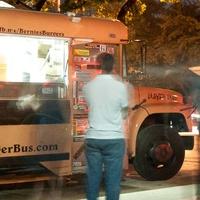 9_CAMH, Steel Lounge Underground, July 2012, Bernie's Burger Bus, food truck